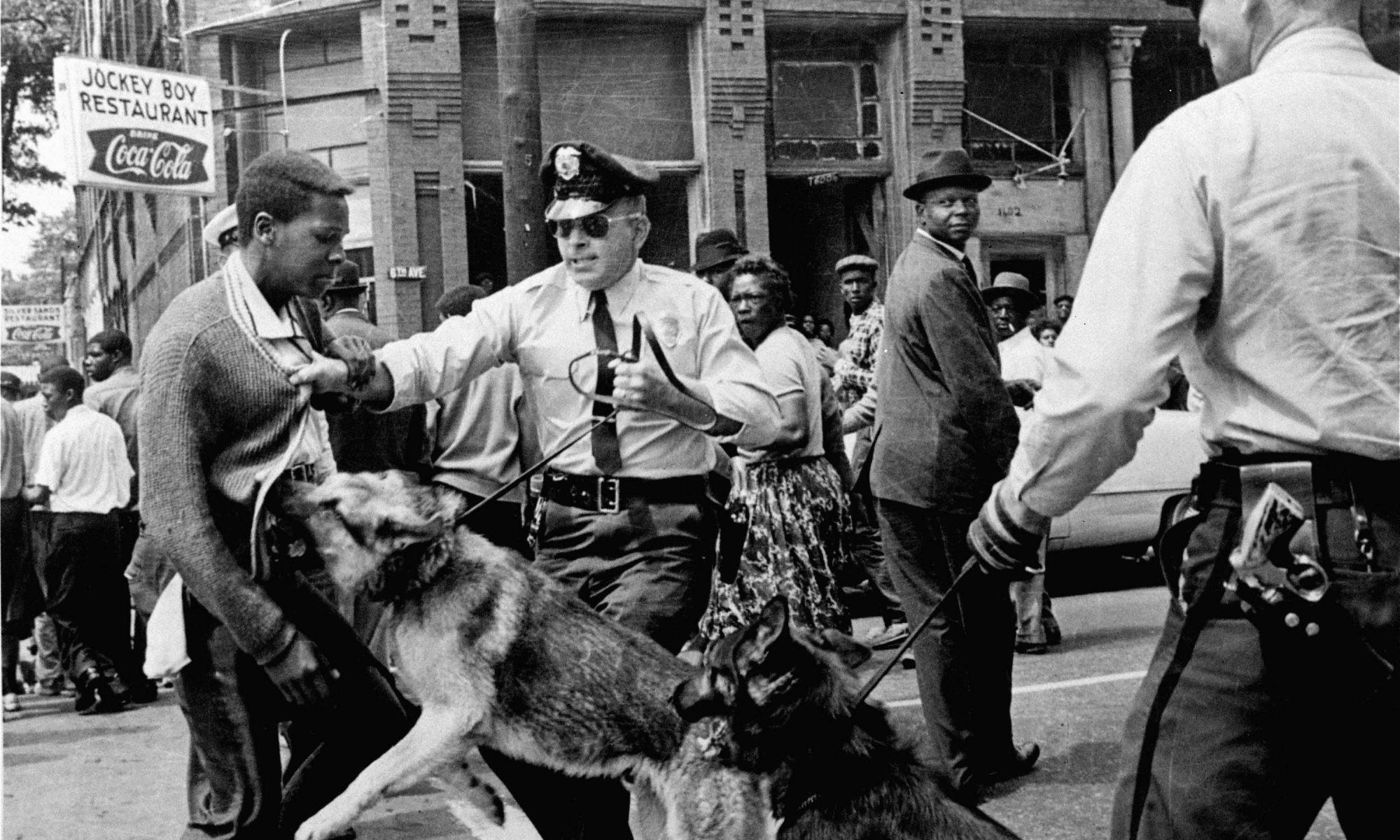 civil rights protest in Birmingham, AL